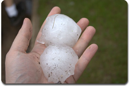 Baseball sized hail - Public Adjuster NC